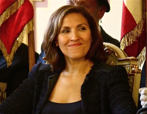 Nora Berra salue l'action de Nicolas Sarkozy dans le Rhône