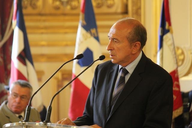 Gérard Collomb à Paris pour rendre hommage aux soldats tués en Afghanistan