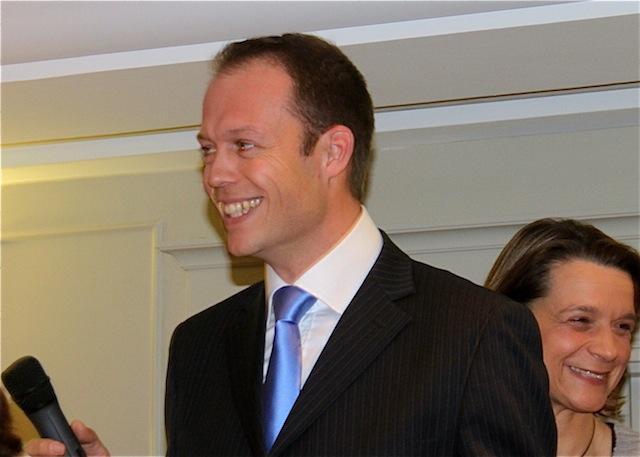 Thierry Mouillac président du Parti Libéral Démocrate du Rhône