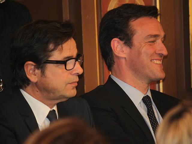 Hamelin et Havard assis côte à côte - LyonMag