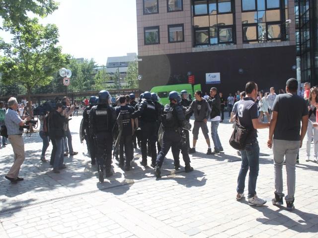 Marche des Souchiens à Lyon : interpellations de militants d'extrême-droite