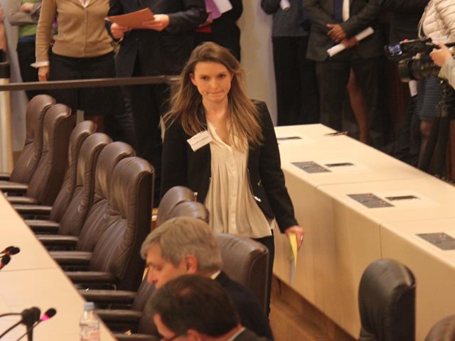 Elsa Michonneau, secrétaire de séance, un rôle important - LyonMag