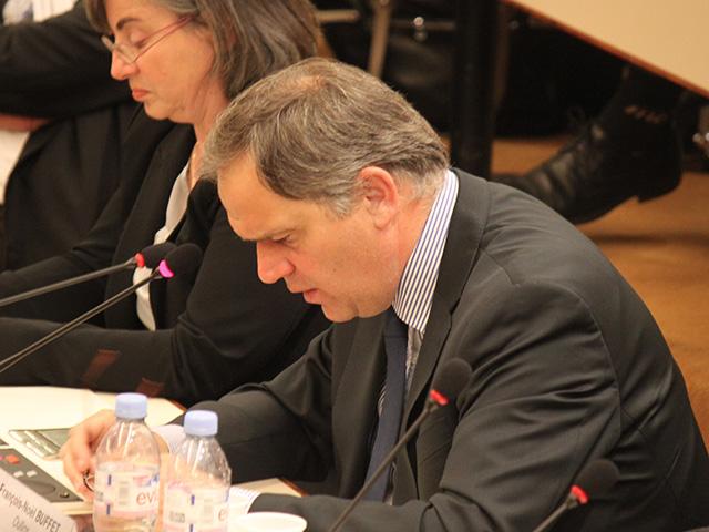 François-Noël Buffet, marqué durant son discours - LyonMag
