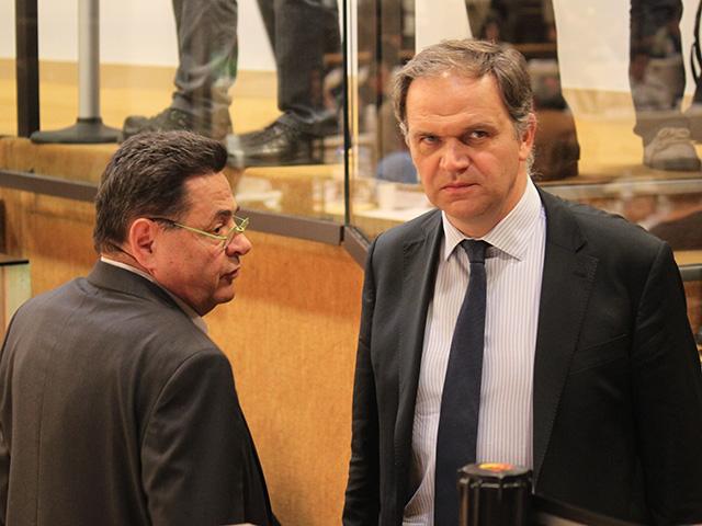 Jean-Paul Bret et François-Noël Buffet discutent - LyonMag