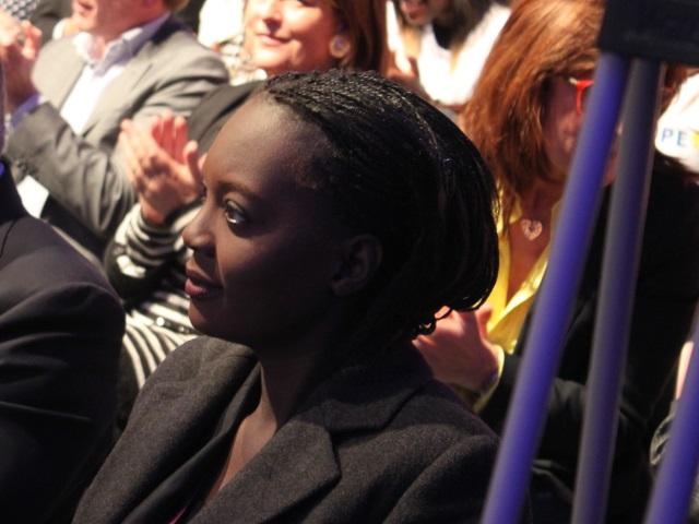 """Rama Yade en visite à Lyon : """"le Parti Radical est la gauche de l'UMP"""""""