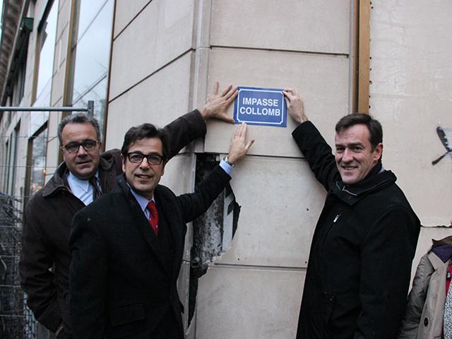 Municipales à Lyon : la rue Grolée rebaptisée impasse Collomb par Michel Havard