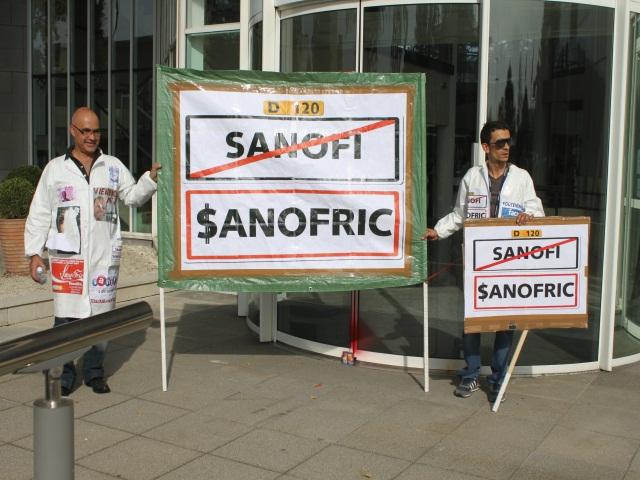 Sanofi : 1000 personnes dans les rues pour défendre leurs emplois