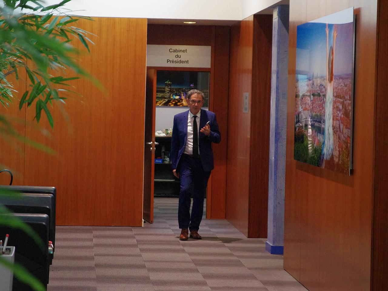 David Kimelfeld a pris ses quartiers - LyonMag