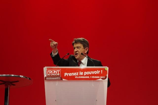 Jean-Luc Mélenchon - Photo LyonMag