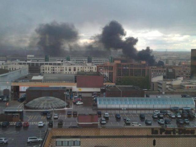 Lyon : 5 voitures partent en fumée à la Part-Dieu