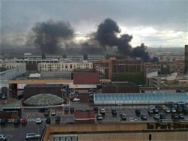 Lyon : le suspect de l'incendie de vendredi à la Part Dieu remis en liberté