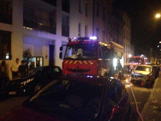 Lyon : un feu dans un parking souterrain dimanche soir