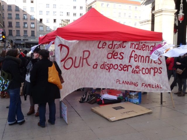 Journée de mobilisation ce samedi à Lyon pour le droit à l'IVG