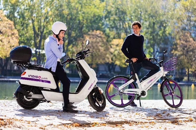 Indigo weel lance ses scooters électriques à Lyon