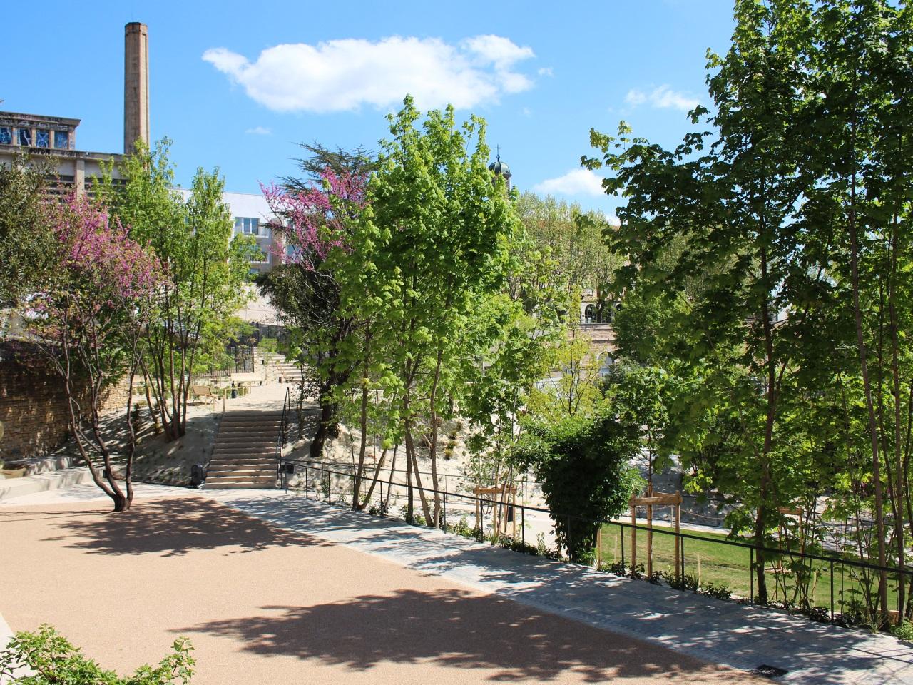 Lyon le jardin andr malraux inaugur au c ur de la for Jardin zoologique de lyon