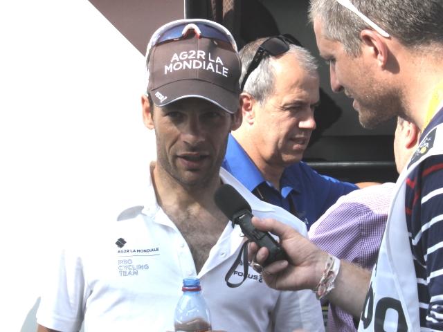 Tour de France : Péraud chute à l'entrainement et hypothèque ses chances au général