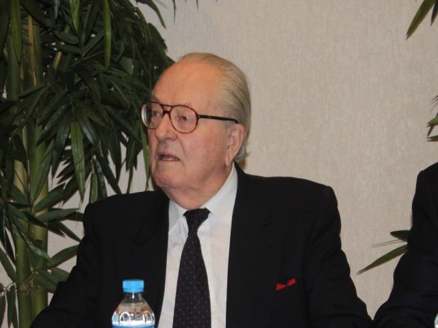 Jean-Marie Le Pen à Lyon samedi pour présenter ses voeux