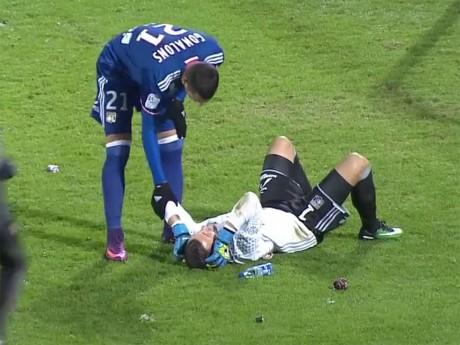 Jets de pétards sur Anthony Lopes (OL) : le FC Metz fait appel du retrait de deux points