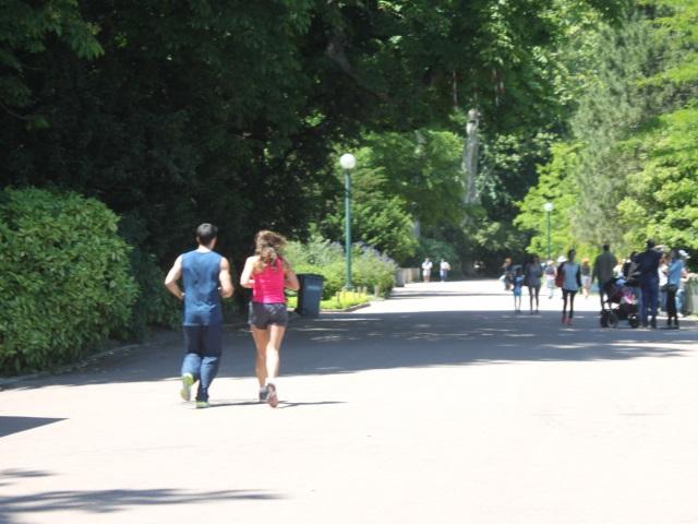 Le parc de la Tête d'Or de Lyon est le spot préféré des runners !