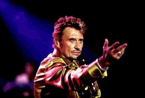 Johnny Hallyday en concert à la Halle Tony Garnier jeudi