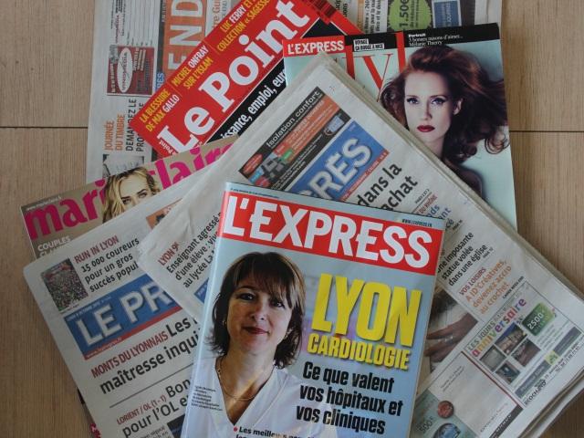 Les journaux de retour dans les kiosques lyonnais ce jeudi