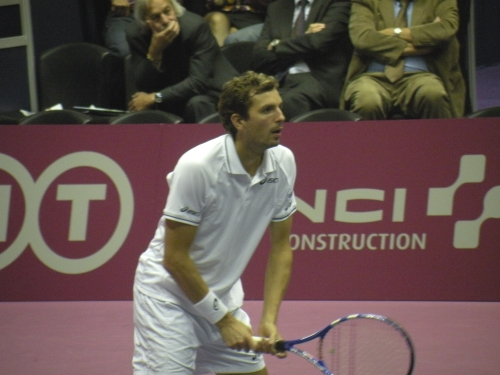 Tennis : lancement de l'Open Sopra Steria à Lyon