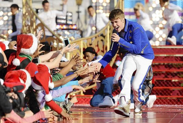 Justin Bieber en concert à Lyon le 25 mars 2013
