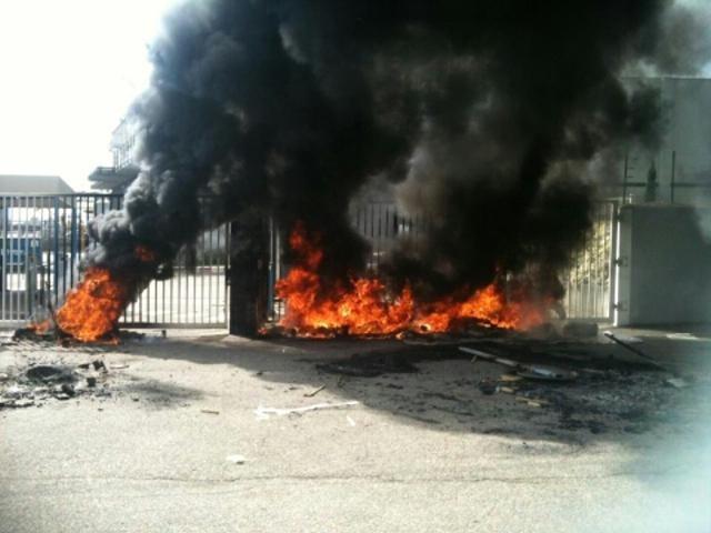 Kem One : 150 personnes bloquent l'usine de Pierre-Bénite