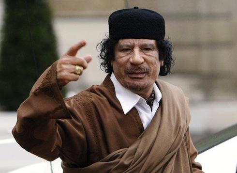 Interpol demande l'arrestation de Kadhafi