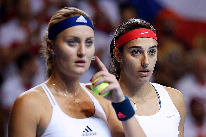 Malgré un niveau exceptionnel, Caroline Garcia en larmes après la défaite en Fed Cup