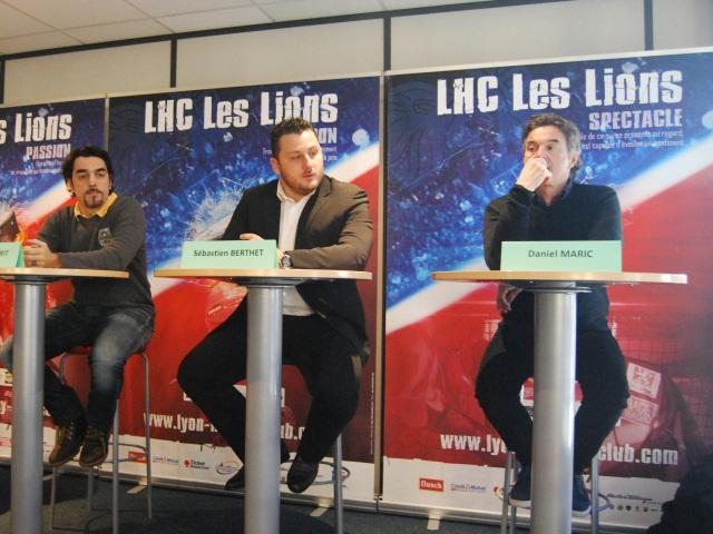 Le nouvel entraineur du Lyon Hockey Club hospitalisé après un AVC
