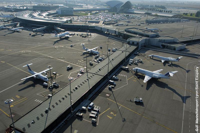 Tous les vols au départ de Lyon St-Exupéry sont annulés ce vendredi