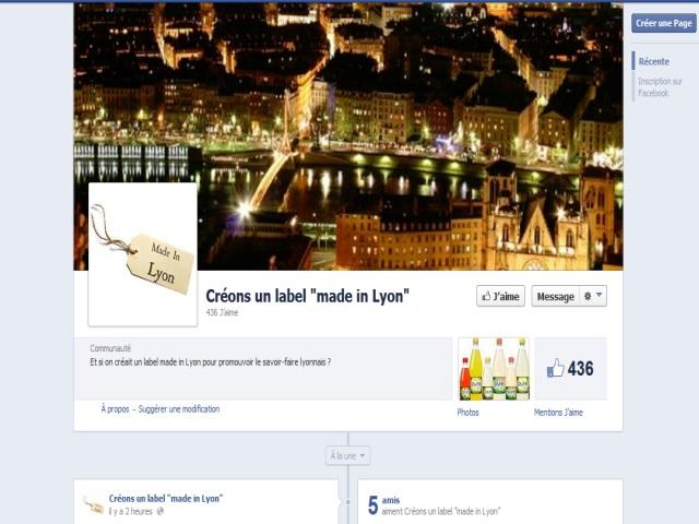 """""""Créons un label """"made in Lyon"""" : l'idée de Romain Blachier soutenue sur Facebook"""