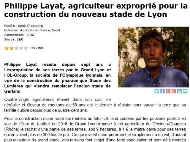 Soutien à Philippe Layat : après Dieudonné, Alain Soral parle de l'agriculteur de Décines