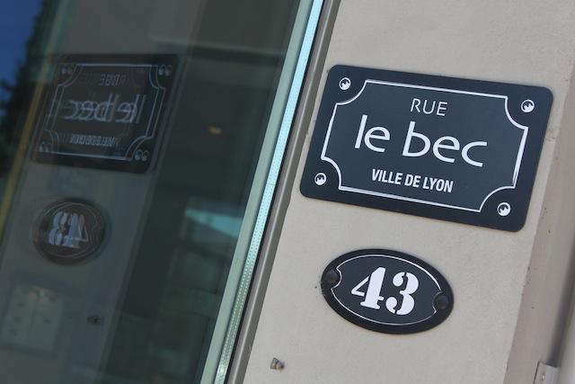"""Y'a-t-il un grand chef pour sauver la """"Rue Le Bec"""" à Lyon ?"""