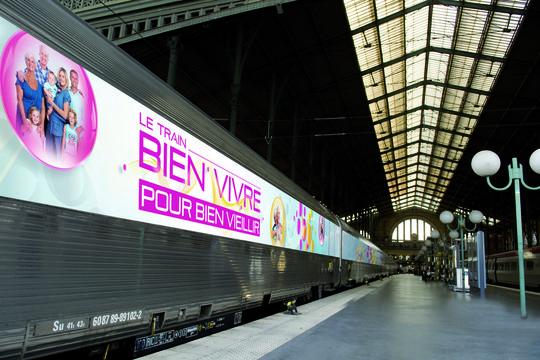 Le Train du bien vivre s'arrête à Lyon