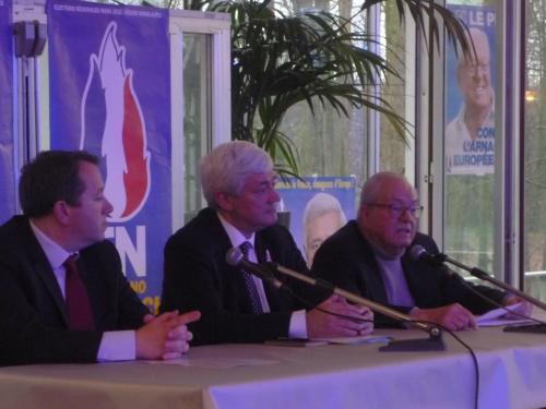 Jean-Marie Le Pen invité pour le 40e anniversaire de la fédé FN du Rhône