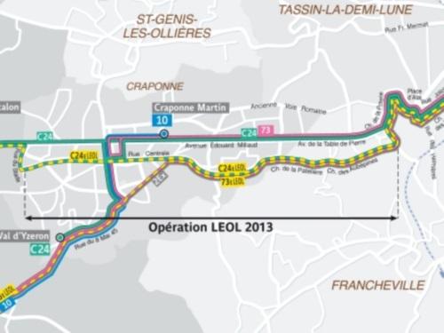 Les Lignes Express de l'Ouest Lyonnais inaugurées et mises en service ce lundi