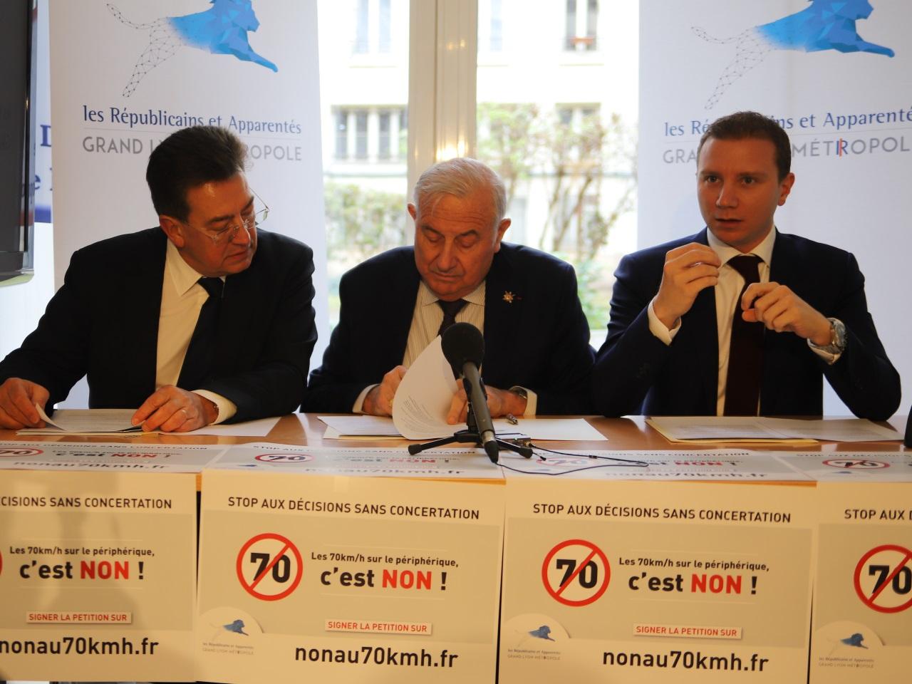 Philippe Cochet, Michel Forissier et Alexandre Vincendet - LyonMag