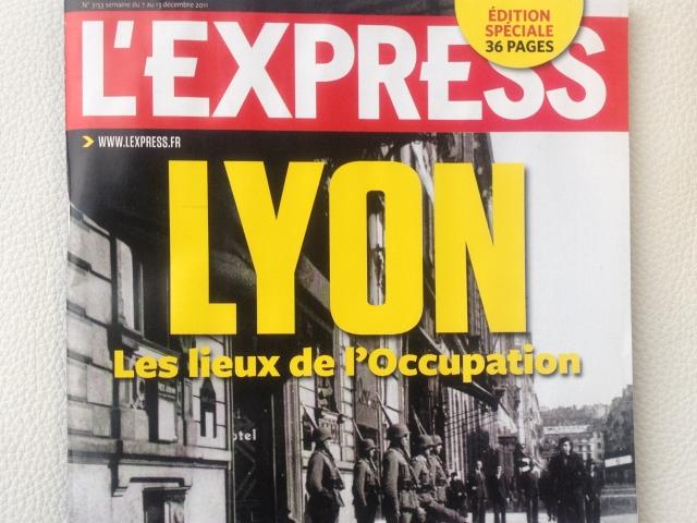 L'Occupation à Lyon, en images dans l'Express