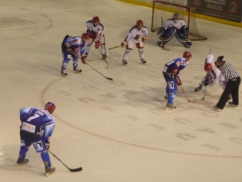 Le LHC sombre contre Rouen (1-8)