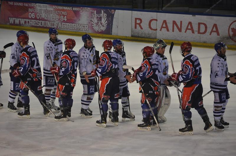 Le LHC s'incline face à Brest en finale aller des play-offs