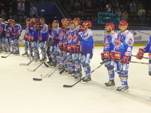 Le LHC s'impose face à Reims (5-4)