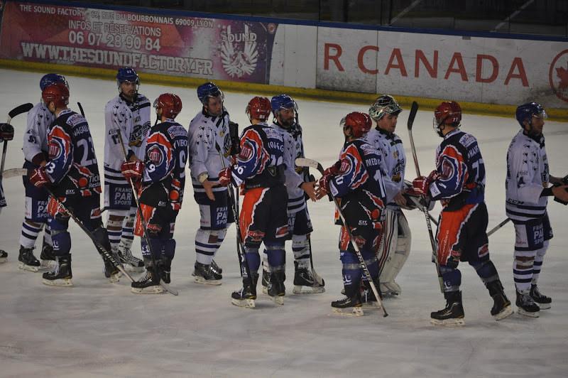 Ligue Magnus : les Lions l'emportent contre Chamonix (6-2)