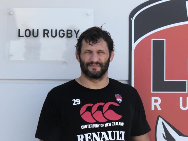 Lionel Nallet porte désormais les couleurs du LOU Rugby