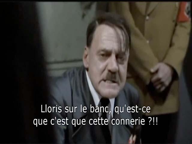 Parodie : quand Hitler apprend que Lloris sera remplaçant à Tottenham