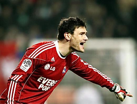 Hugo Lloris sera le capitaine des Bleus pour l'Euro 2012