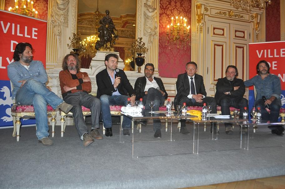 L'équipe du film autour de Thierry Braillard - LyonMag.com