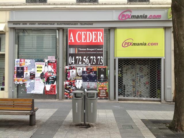 Le local prendra la place de l'ancienne boutique Pixmania - LyonMag