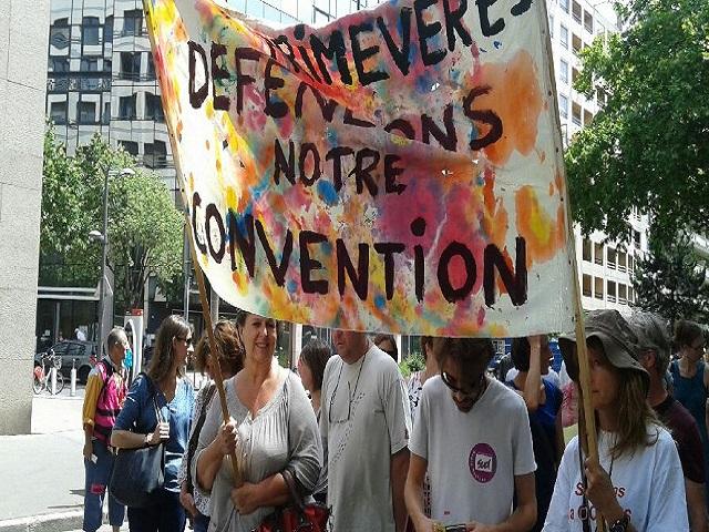 Loi santé : 700 personnes ont manifesté jeudi pour le retrait de la loi Touraine